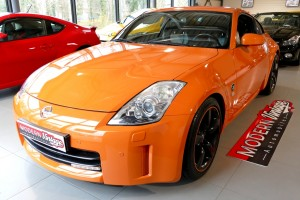 Nissan 350 Z Pack 313cv Temper Orange