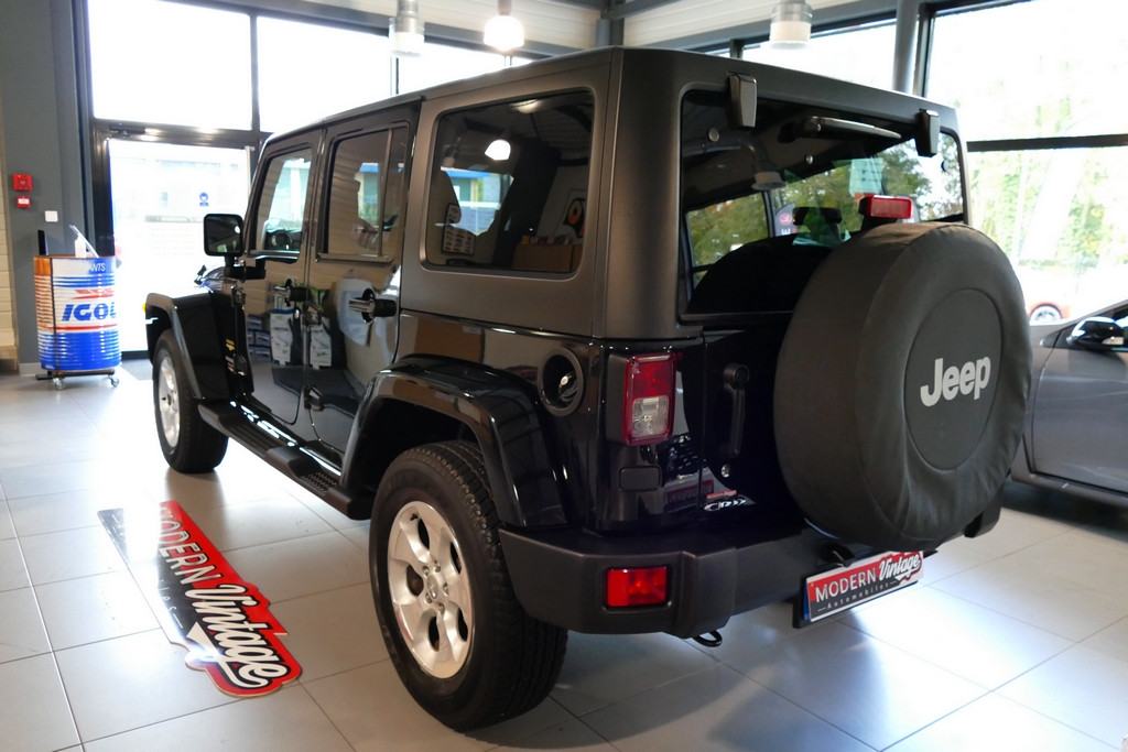Jeep Wrangler Unlimited 2.8 CRD 200cv Sahara